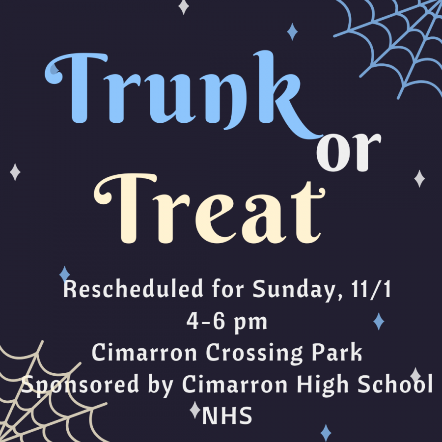 Trunk or Treat with NHS