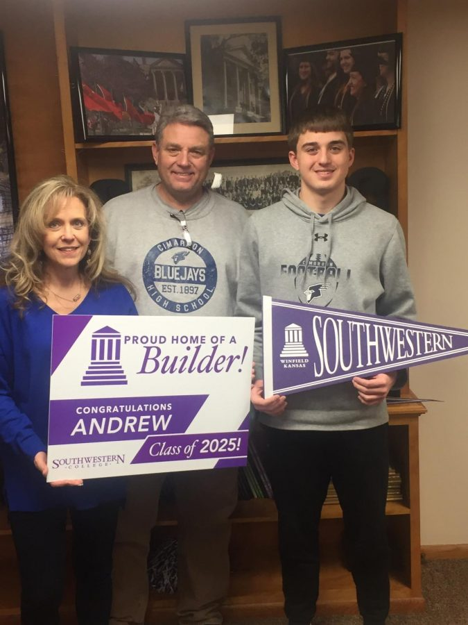 Andrew Ridenour Signs To Play Basketball at Southwestern